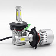 levne -SO.K 2pcs H7 / H4 / H3 Auto Žárovky 25 W COB 6000 lm 3 LED Mlhovky / Čelovka Pro Všechny roky