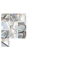 tanie -Dekoracyjne naklejki ścienne - Naklejki ścienne 3D Abstrakcja / Kształty Łazienka / Kuchnia