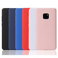 Etui Käyttötarkoitus Huawei P20 lite / Huawei Mate 20 Pro Himmeä Takakuori Yhtenäinen Pehmeä TPU varten Huawei P20 / Huawei P20 Pro / Huawei P20 lite