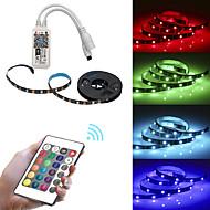 お買い得  -BRELONG® 1m RGBストリップライト 30 LED 5050 SMD RGB 防水 / APPコントロール / クリエイティブ 12 V 1個