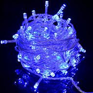 お買い得  -10m ストリングライト 100 LED ブルー 装飾用 220-240 V 1セット