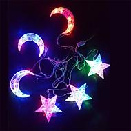 זול -קישוטים לחג לשנה החדשה / קישוטי חג מולד תאורת חג מולד דקורטיבי רף צבע 1pc