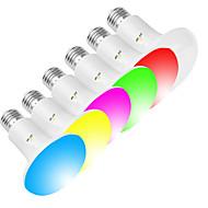 お買い得  LED ボール型電球-EXUP® 1個 10 W 800 lm E26 / E27 LEDスポットライト / LEDボール型電球 R80 23 LEDビーズ SMD 5730 Smart / APPコントロール / クリエイティブ RGBW 85-265 V
