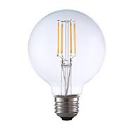 お買い得  -GMY® 1個 3.5 W 350 lm E26 / E27 フィラメントタイプLED電球 G25 4 LEDビーズ COB 装飾用 温白色 120 V