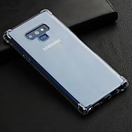 Недорогие Чехлы и кейсы для Galaxy Note 8-Кейс для Назначение SSamsung Galaxy Note 9 Защита от удара / Прозрачный Кейс на заднюю панель Однотонный Мягкий ТПУ для Note 9 / Note 8