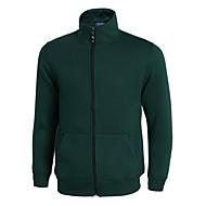 cheap -Men's Basic Sweatshirt - Solid Colored Fuchsia XL