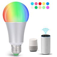 levne -KWB 1ks 7 W 700 lm E26 / E27 LED chytré žárovky A19 22 LED korálky SMD 5730 Smart / Kontrola APP / Časování RGBW 100-240 V