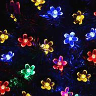cheap -Holiday Decorations New Year's / Valentine's Day Christmas Lights / Christmas Ornaments LED Light / Decorative Purple / colour bar / Warm White 1pc