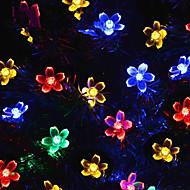 זול -קישוטים לחג לשנה החדשה / חג האהבה תאורת חג מולד / קישוטים לחג המולד אור LED / דקורטיבי סגול / רף צבע / לבן חם 1pc