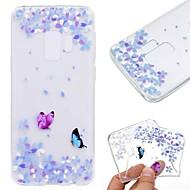 Case สำหรับ Samsung Galaxy S9 Plus / S8 Transparent / Pattern ปกหลัง Butterfly Soft TPU สำหรับ S9 / S9 Plus / S8 Plus
