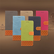 Maska Pentru Apple iPhone 8 Plus / iPhone 7 Plus Titluar Card / Întoarce Carcasă Telefon Mată Moale PU piele pentru iPhone 8 Plus / iPhone 7 Plus