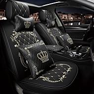 voordelige -ODEER Auto-stoelhoezen Hoofdsteun en taille kussensets Zwart / Roze / Zwart Gold / Zwart / Wit PU-nahka Standaard Voor Universeel Alle jaren Alle Modellen