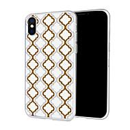 Недорогие Кейсы для iPhone 8 Plus-Кейс для Назначение Apple iPhone XS / iPhone XR С узором Кейс на заднюю панель Полосы / волосы Мягкий ТПУ для iPhone XS / iPhone XR / iPhone XS Max