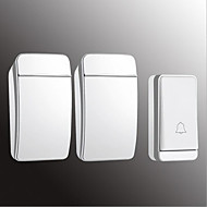 cheap -Factory OEM Wireless One to Two Doorbell Music / Ding dong Non-visual doorbell Surface Mounted