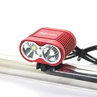 お買い得  フラッシュライト/ランタン/ライト-自転車用ライト LED LED 0 エミッタ 2000 lm 3 照明モード バッテリー&チャージャー付き 防水, 耐衝撃性, 充電式 キャンプ / ハイキング / ケイビング, 日常使用, サイクリング