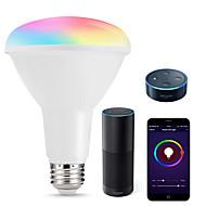 お買い得  -KWB 1セット 10 W 1000 lm E26 / E27 LEDスマート電球 R80 22 LEDビーズ SMD 5730 Smart / APPコントロール / 計時 RGBW 100-240 V
