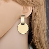 levne -Dámské Geometrické Visací náušnice - Jednoduchý Módní Moderní Šperky Zlatá / Stříbrná Pro Street Kancelář a kariéra 1 Pair