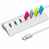 tanie Akcesoria komputerowe-7 Rozdzielacz USB USB 3.0 USB 3.0 Wysoka prędkość Centrum danych