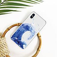 저렴한 -케이스 제품 Apple iPhone XR / iPhone XS Max 패턴 뒷면 커버 풍경 / 카툰 소프트 TPU 용 iPhone XS / iPhone XR / iPhone XS Max