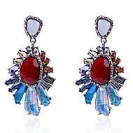 cheap -Women's Drop Earrings - Resin Jewelry Black / Red / Blue For Street 1 Pair