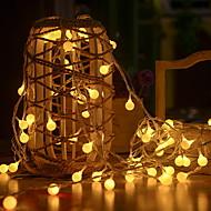 ieftine -3M Fâșii de Iluminat 20 LED-uri Alb Cald Decorativ 5 V 1set