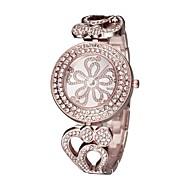 저렴한 -ASJ 여성용 드레스 시계 일본 쿼츠 실버 / 골드 / 로즈 골드 캐쥬얼 시계 아날로그 패션 우아함 - 골드 실버 로즈 골드 1 년 배터리 수명 / SSUO SR626SW + CR2025