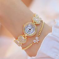 cheap -Women's Wrist Watch Japanese Quartz Silver / Gold 30 m New Design Luminous Casual Watch Analog Casual Fashion - Gold Silver Two Years Battery Life / Imitation Diamond