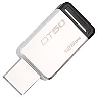 baratos -Kingston 128GB unidade flash usb disco usb USB 3.1 Metal Irregular Sem Touca