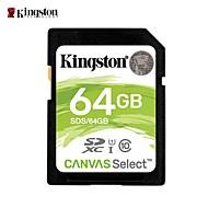 billiga -Kingston 64GB SD Kort minneskort class10