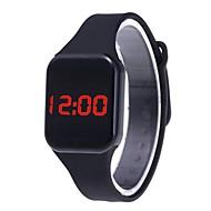 Χαμηλού Κόστους -Ανδρικά Ψηφιακό ρολόι Ψηφιακό σιλικόνη Μαύρο / Λευκή / Μπλε Καθημερινό Ρολόι Lovely Ψηφιακό Καθημερινό Μοντέρνα - Κόκκινο Μπλε Μπλε Απαλό