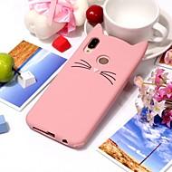 Coque Pour Huawei P20 / P20 lite Ultrafine Coque Chat / Dessin Animé 3D Flexible Silicone pour Huawei P20 / Huawei P20 lite