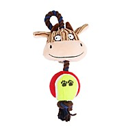 abordables -Jouets sonores Animaux Focus Toy Flanelle Pour Chiens Chats
