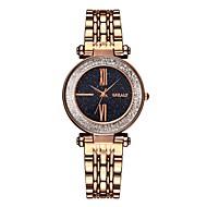 preiswerte -Damen Uhr Armband-Uhr Quartz Edelstahl Schwarz / Blau / Braun Wasserdicht Kreativ Analog Freizeit Modisch Braun Blau Rotgold