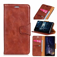 cheap -Nillkin Case For Sony Sony Xperia XA2 / Xperia XZ2 Premium Wallet / Card Holder / Shockproof Full Body Cases Solid Colored Hard PU Leather for Sony Xperia XZ2 Compact / Sony Xperia XZ2 Premium / Sony