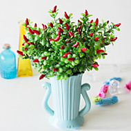 cheap -Artificial Flowers 2 Branch Classic Wedding Pastoral Style Plants Tabletop Flower