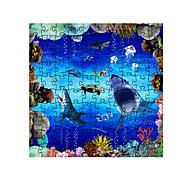 저렴한 -직쏘 퍼즐 해양 동물 부모 - 자녀 상호 작용 모두 장난감 선물
