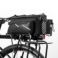 ROCKBROS 9-12 L Pyörän tavaralaukut Vedenkestävä Käytettävä Pyörälaukku Teryleeni Pyörälaukku Pyöräilylaukku Muut Samanlaisia Koko Puhelimet Pyörä