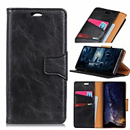 cheap -Nillkin Case For Huawei P20 Pro / Huawei Mate 20 Pro Card Holder / Shockproof / with Stand Full Body Cases Solid Colored Hard PU Leather for Huawei P20 / Huawei P20 Pro / Huawei P20 lite