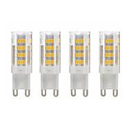billiga -SENCART 4pcs 3 W LED-lampor med G-sockel 280 lm G9 T 52 LED-pärlor SMD 2835 Dekorativ Varmvit Kallvit 85-265 V