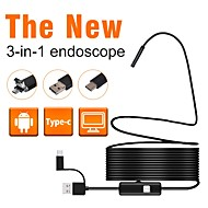 cheap -7 mm lens Industrial Endoscope -  --  7 1 cm Working length 3 in 1 Car Repair Inspection