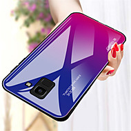 cheap -Case For Samsung Galaxy A8 Plus 2018 / A8 2018 Shockproof Back Cover Color Gradient Hard Tempered Glass for A5(2018) / A6+ (2018) / A8 2018
