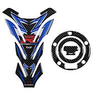 billige -5d carbon fiber motorcykel brændstof tank pad dekaler gas cap klistermærke til yamaha yzf-r1 yzfr1 yzf r1 alle 00-14 14 13 12 11 10 09 08 07