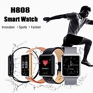 お買い得  -Indear H808 男性 スマートブレスレット Android iOS ブルートゥース スポーツ 防水 心拍計 血圧測定 タッチスクリーン 歩数計 着信通知 アクティビティトラッカー 睡眠サイクル計測器 座りがちなリマインダー / 目覚まし時計
