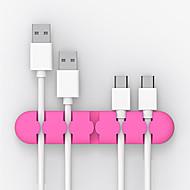 levne -Cable Organizers kreativita / Nový design / Malé Kvádr Kryt kabelového kabelu / Držák kabelového kabelu