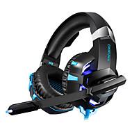 levne -LITBest Sluchátka a headset Kabel Sluchátka Sluchátka Koženka / ABS Resin / Kov Hraní her Sluchátko Zvukem aktivované LED světla / Stereo / s mikrofonem Sluchátka