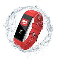 お買い得  -Indear 115PRO 女性 スマートブレスレット Android iOS ブルートゥース Smart スポーツ 防水 心拍計 血圧測定 歩数計 着信通知 睡眠サイクル計測器 座りがちなリマインダー 目覚まし時計