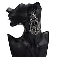 זול -בגדי ריקוד נשים עגילי טיפה עגילים תכשיטים זהב / כסף עבור קרנבל זוג 1