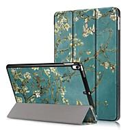 halpa -Etui Käyttötarkoitus Apple iPad New Air (2019) / iPad mini 5 Iskunkestävä / Tuella / Ultraohut Suojakuori Puu Kova PU-nahka varten iPad Mini 5 / iPad New Air (2019) / iPad Mini 4 / iPad Pro 10.5
