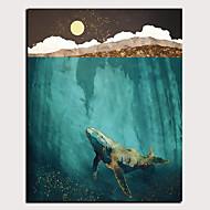 abordables -Imprimé Impressions sur toile roulées Impression sur Toile - Abstrait Animaux Classique Moderne Art Prints