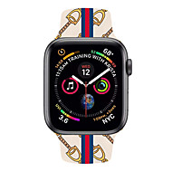 billige -watch band for Apple Watch Series 4/3/2/1 / Apple Watch Series 4 Apple Classic Armbånd ekte lær håndleddsstropp